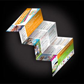 Créations dépliants brochures