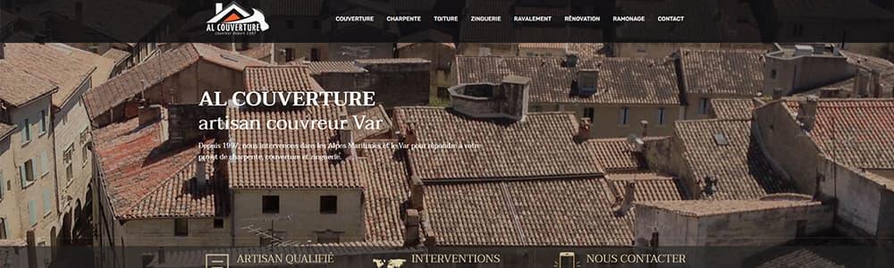 Création du site web AL Couverture