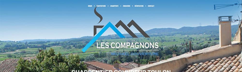 Création du site Les Compagnons Michael Couverture