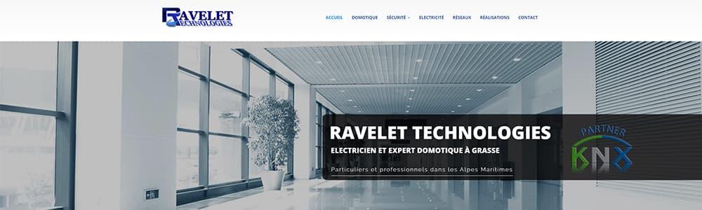 Création du site Ravelet Technologies